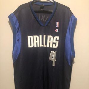 Vtg Michael Finley Dallas Mavs Champion Jersey